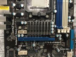 Материнская плата ASRock 770 Extreme3 / Socket AM3 /4x DDR3