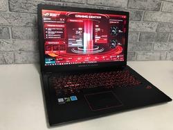 Asus ROG Strix GL753VD / 17.3 /  Core i7 7700HQ / 16Gb / M2 SSD 512Gb / GeForce GTX 1050