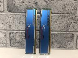 Оперативная память 4Gb(2x2Gb) Kingston HyperX Blu DDR3 PC3-12800  (KHX1600C9AD3B1K2 / 4G)