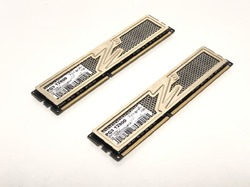 Оперативная память OCZ Gold Series 4Gb (2Gb+2Gb) DDR3 12800 [OCZ3G1600LV6GK]