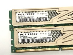 Оперативная память OCZ Gold Series 4Gb (2Gb+2Gb) DDR3 12800 [OCZ3G1600LV4GK]