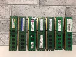 Оперативная память DDR3 2Gb в ассортименте