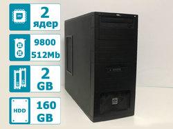 Системный блок Core2Dou E4600 2.4Ghz/2Gb/160Gb